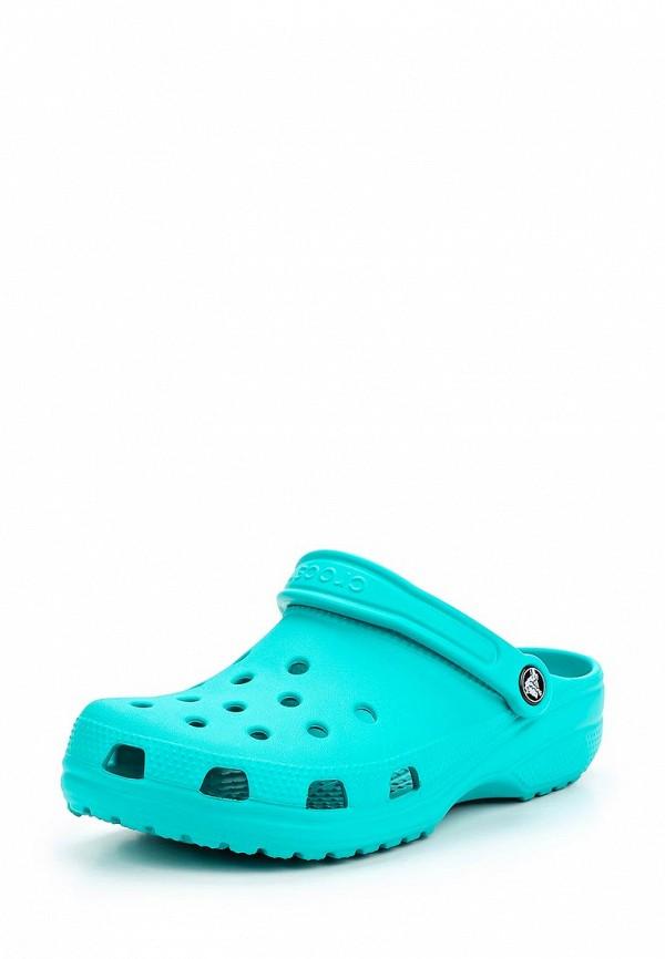 Сабо Crocs Crocs CR014AUARQI9 слипоны crocs crocs cr014amred11