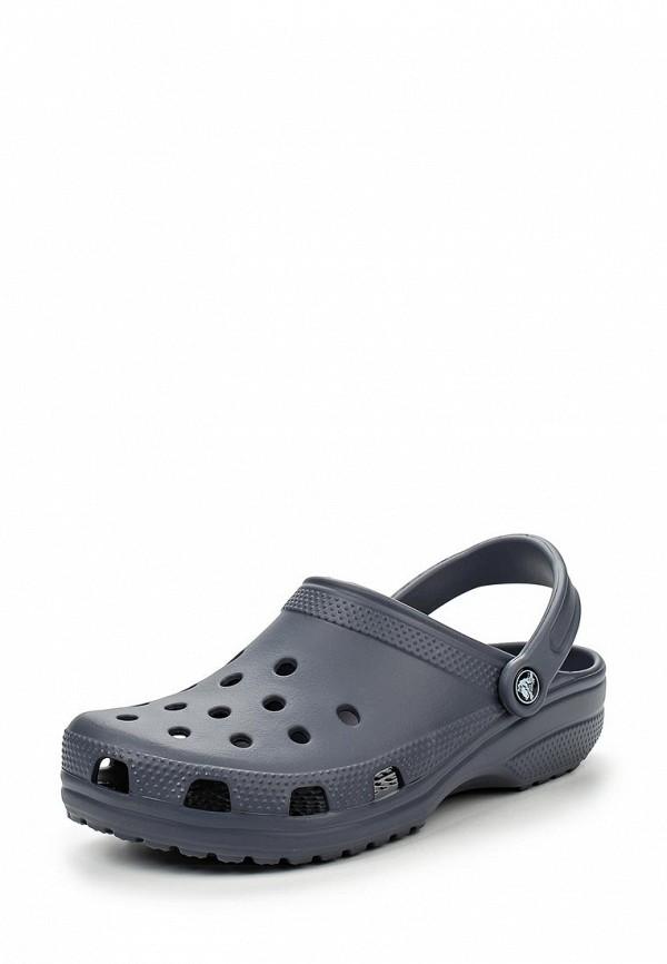 Женские сабо на плоской подошве Crocs (Крокс) 10001-4EA