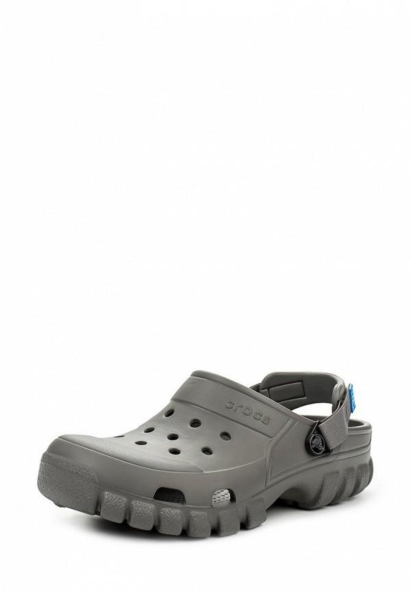 Женские сабо на плоской подошве Crocs (Крокс) 202651-05R