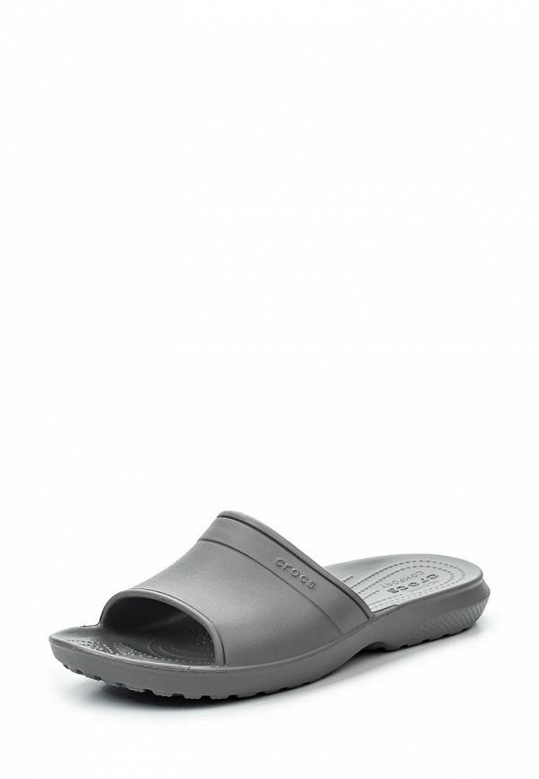 Женские сланцы Crocs (Крокс) 204067-019
