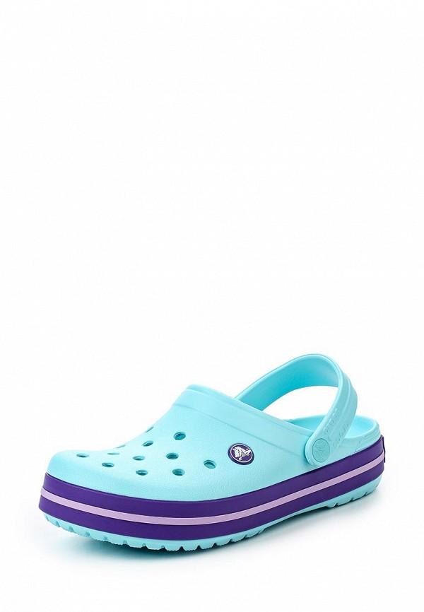 Женские сланцы Crocs (Крокс) 11016-4O9
