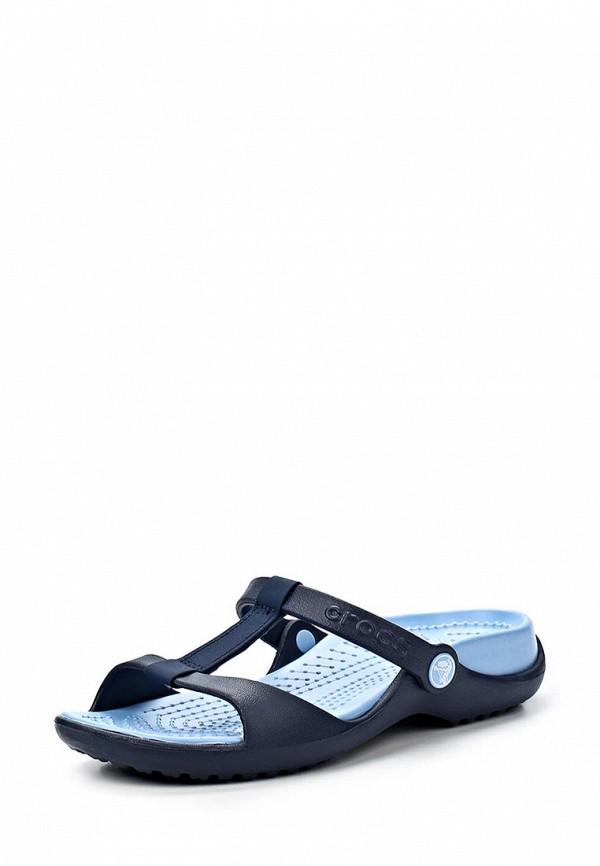 Женские сланцы Crocs (Крокс) 11216-461