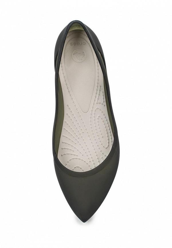 Женские балетки Crocs (Крокс) 16265-0W8: изображение 4