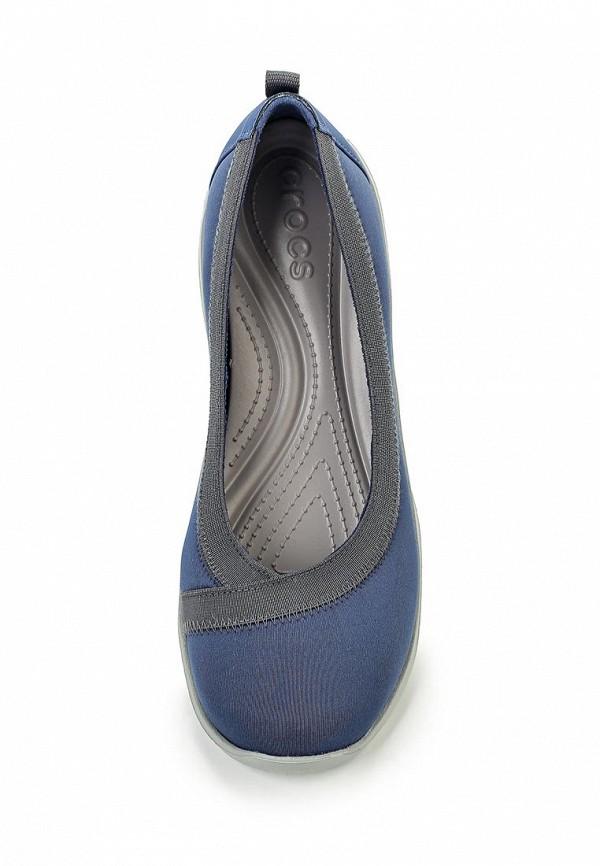 Женские балетки Crocs (Крокс) 203194-402: изображение 4