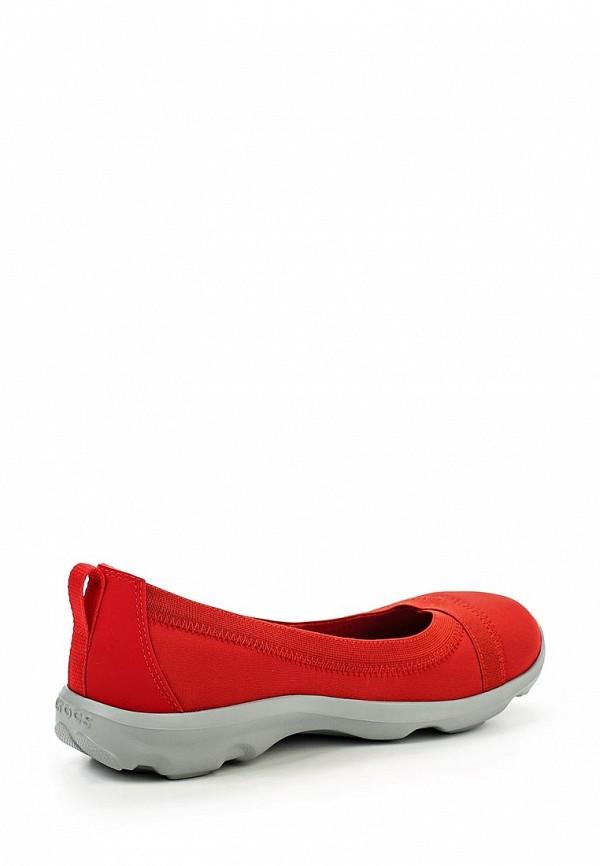 Женские балетки Crocs (Крокс) 203194-8C1: изображение 2
