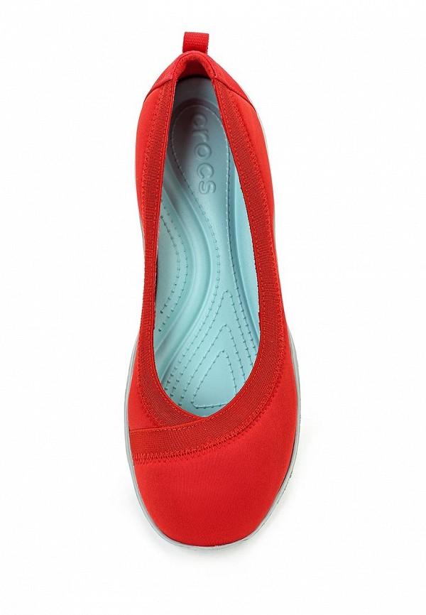 Женские балетки Crocs (Крокс) 203194-8C1: изображение 4