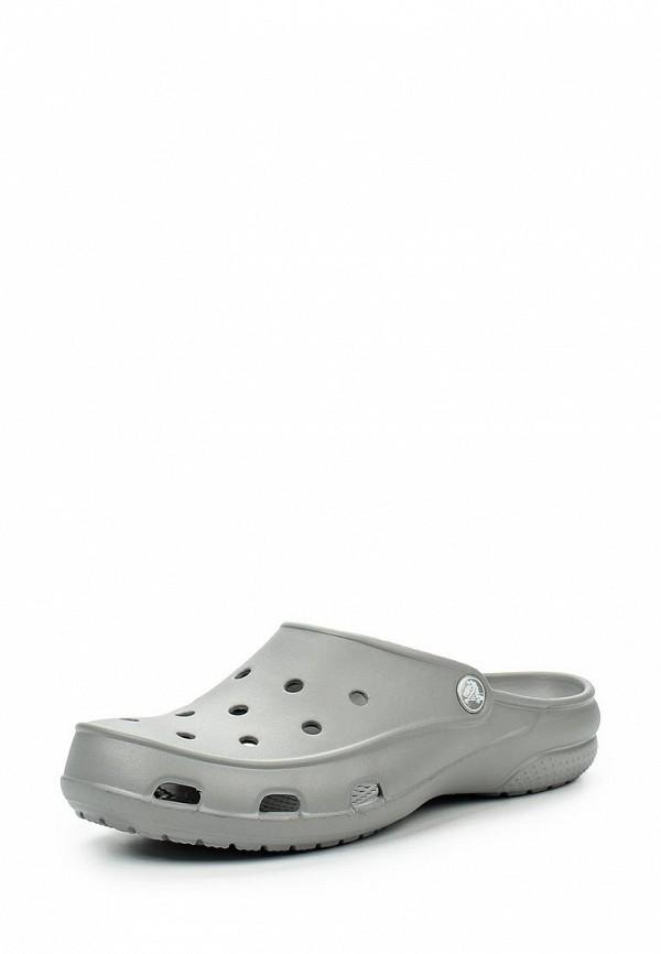 Женские сабо на плоской подошве Crocs (Крокс) 200861-040