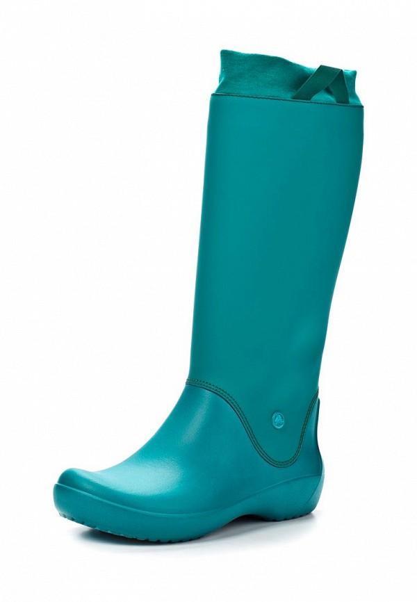 Женские резиновые сапоги Crocs (Крокс) 12424-38J