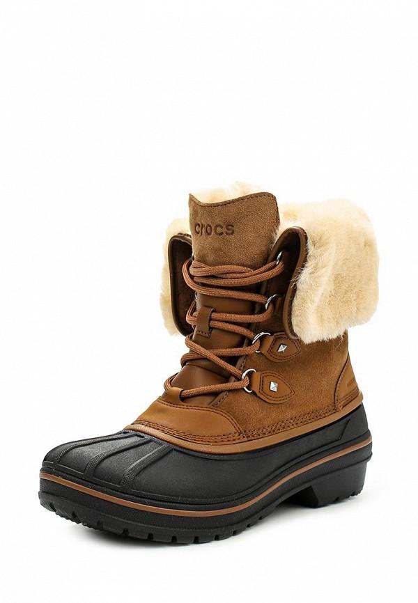 где купить Ботинки Crocs Crocs CR014AWLGH41 по лучшей цене