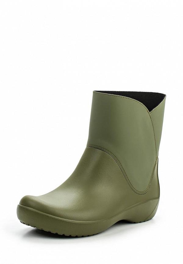 Резиновые полусапоги Crocs 203417-309
