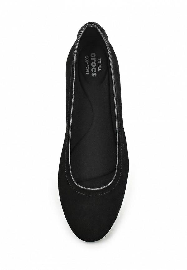 Женские балетки Crocs (Крокс) 203410-001: изображение 4