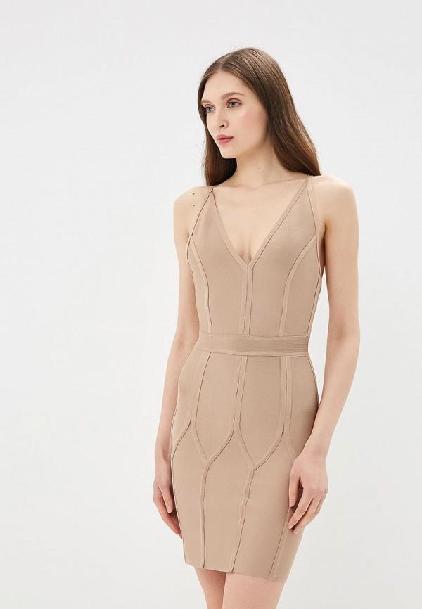 Купить Платье Danity, DA023EWBLTE5, бежевый, Весна-лето 2018