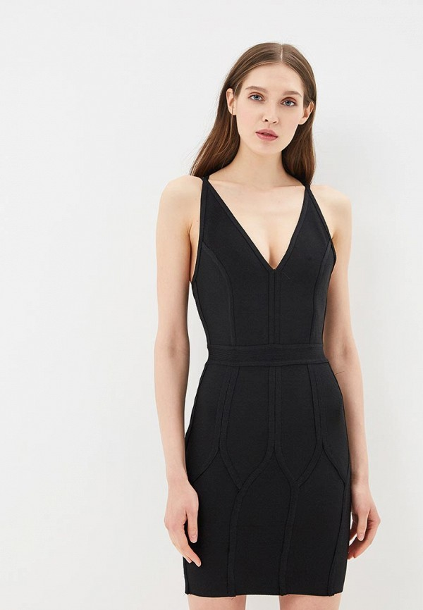 Купить Платье Danity, DA023EWBLTE6, черный, Весна-лето 2018