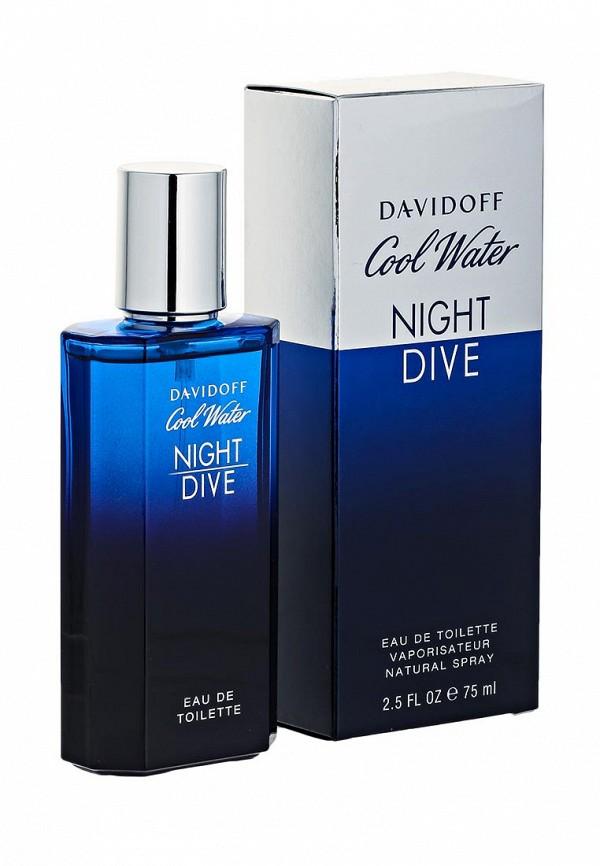 Туалетная вода Davidoff Water Night Dive 75 мл