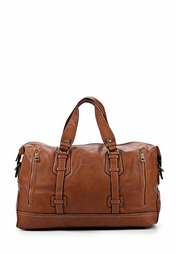 Дорожная сумка David Jones (Дэвид Джонс) СМ2079-1_коричневый
