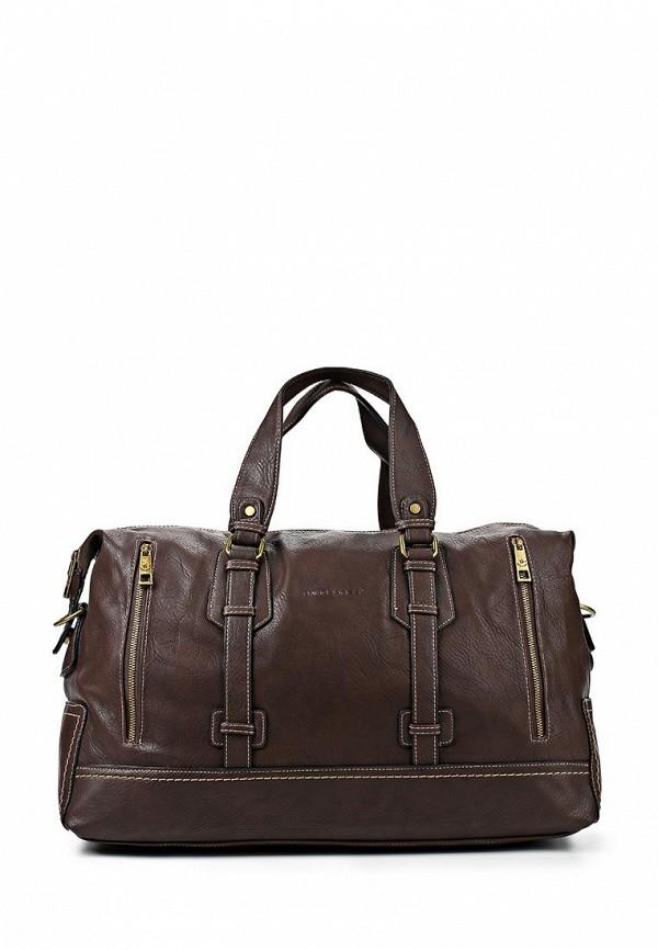 Дорожная сумка David Jones (Дэвид Джонс) СМ2079-1_т.-коричневый