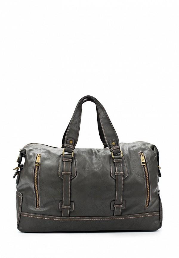 Дорожная сумка David Jones (Дэвид Джонс) СМ2079-1_серый