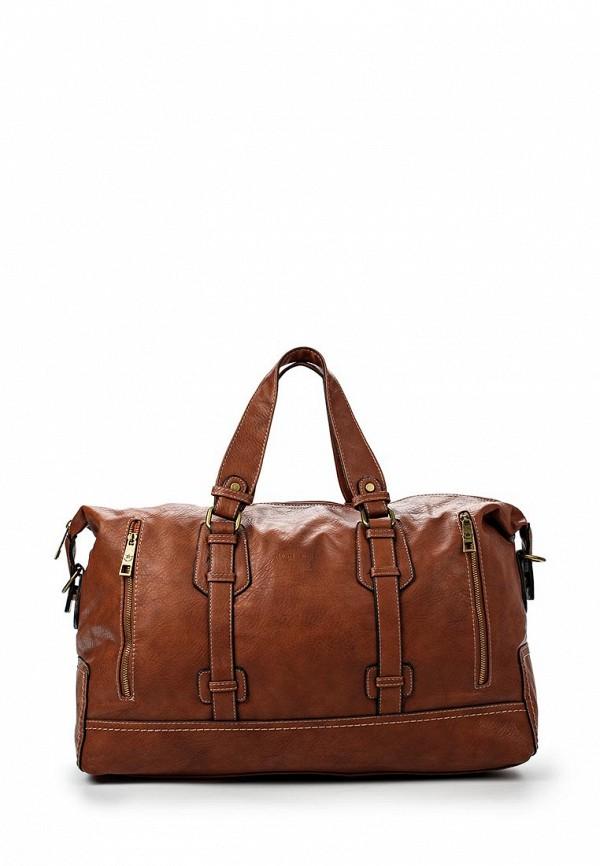 Большая сумка David Jones (Дэвид Джонс) СМ2079-1_рыжий