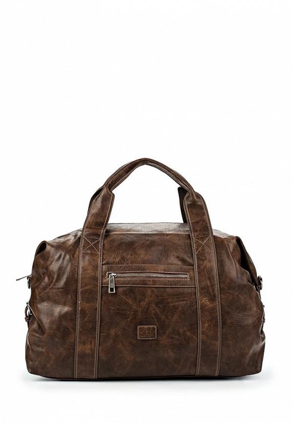 Дорожная сумка David Jones СМ3241_т.-коричневый