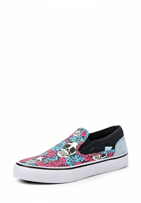 Слипоны DC Shoes DC Shoes DC329AWJEA89 dc shoes кеды dc heathrow se 11