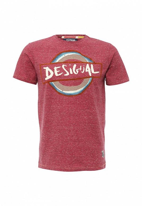 Футболка с надписями Desigual (Дезигуаль) 61T14C8