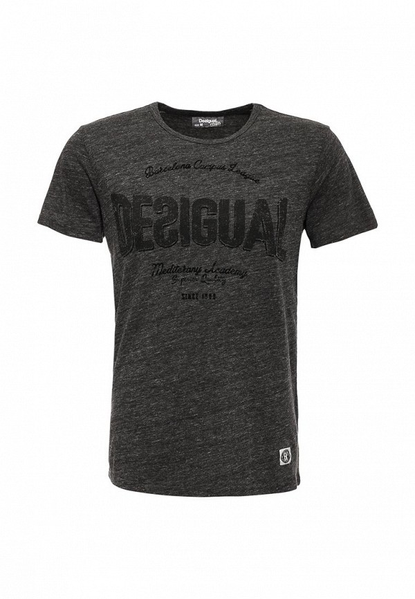 Мужская серая футболка Desigual