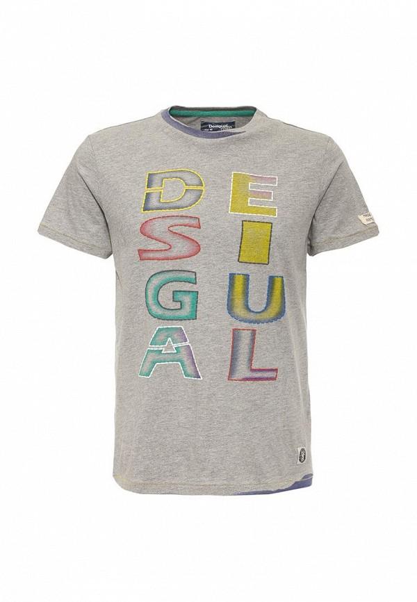 Футболка с коротким рукавом Desigual (Дезигуаль) 61T14A7