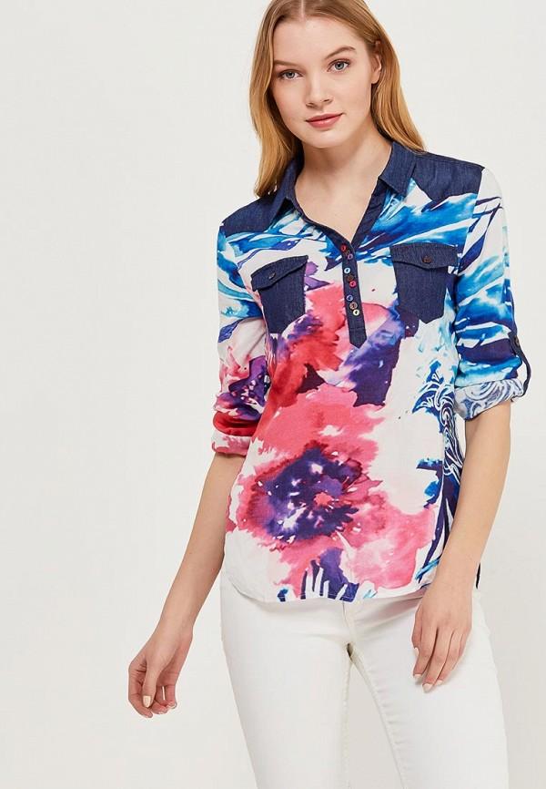 Блуза Desigual Desigual DE002EWABXI5 блуза jacqueline de yong jacqueline de yong ja908ewxaf30