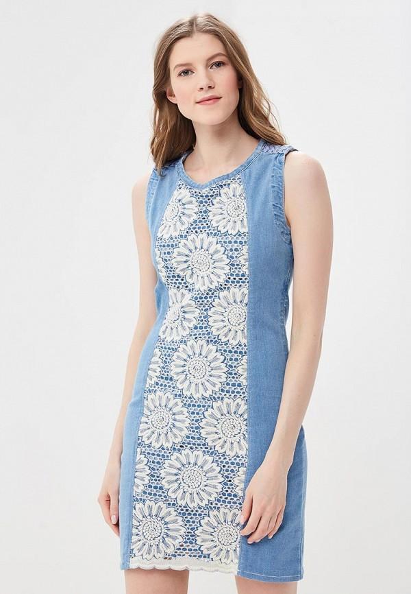 Платье Desigual Desigual DE002EWABXS3 платье desigual 17wwvk44 2000