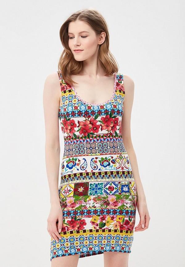 Платье Desigual Desigual DE002EWABXS6 платье desigual 17wwvk44 2000