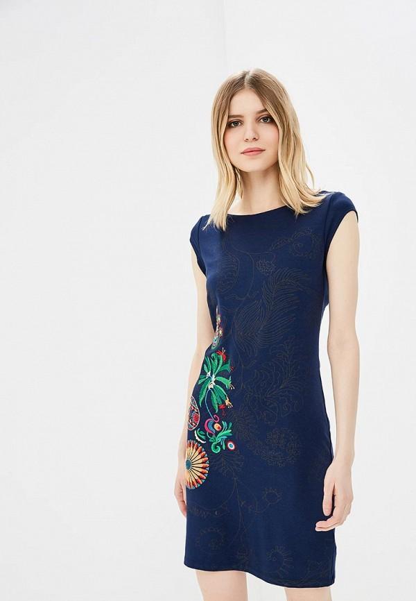 Платье Desigual Desigual DE002EWABXS7 платье desigual desigual de002ewoqr00