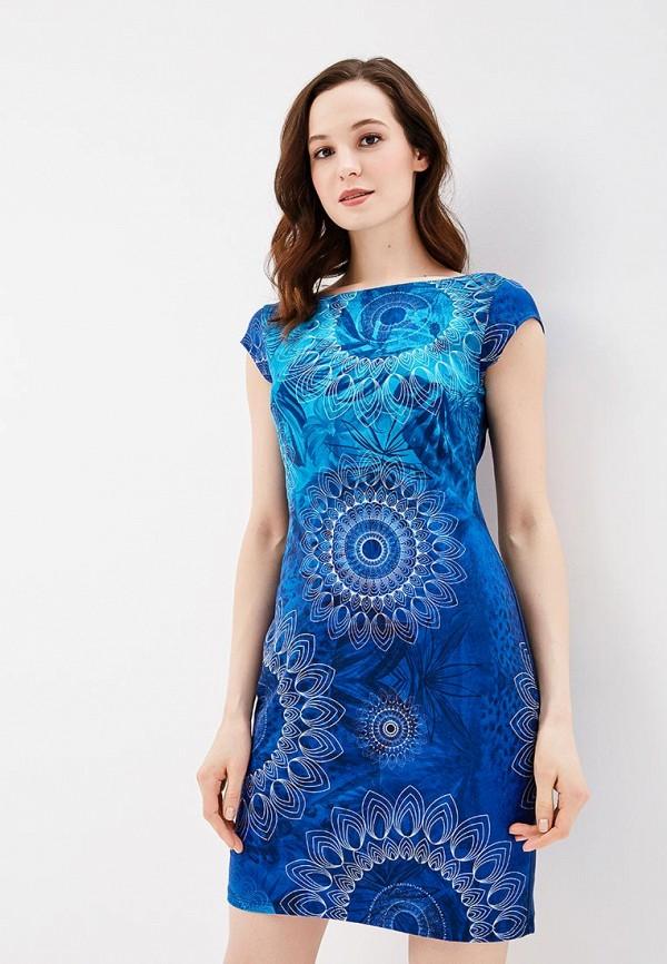 Платье Desigual Desigual DE002EWABXT0 платье desigual 17wwvk44 2000