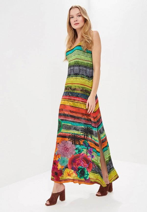 Платье Desigual Desigual DE002EWABXT1 платье desigual 17wwvk44 2000