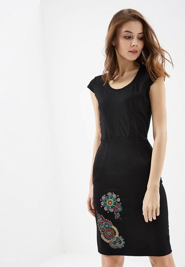 Платье Desigual Desigual DE002EWABXT4 платье desigual desigual de002ewoqr00