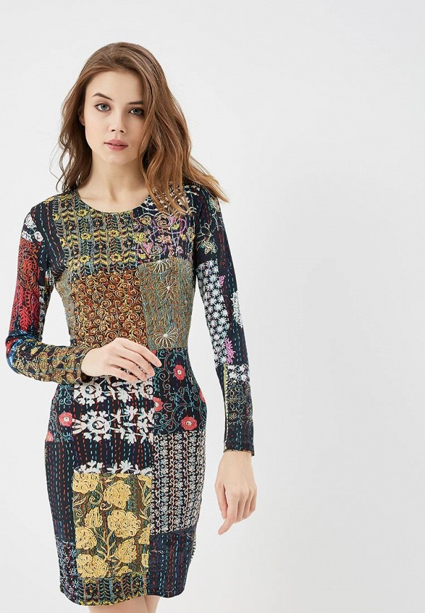 Платье Desigual Desigual DE002EWABXT8 платье desigual desigual de002ewoqr00