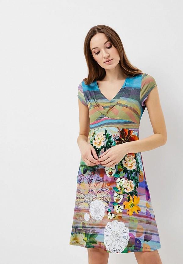 Платье Desigual Desigual DE002EWABXU0 платье desigual 17wwvk44 2000