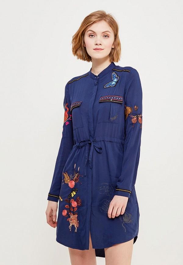 Платье Desigual Desigual DE002EWABXU2 платье desigual desigual de002ewoqr00