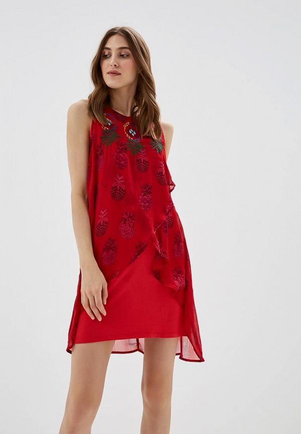 Платье Desigual Desigual DE002EWABXV3 платье desigual 17wwvk44 2000