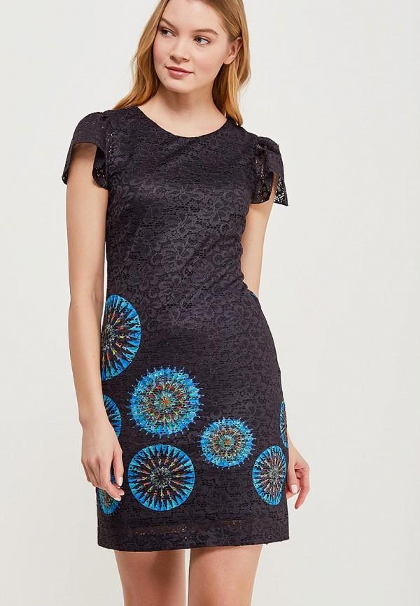 Платье Desigual Desigual DE002EWABXV7 платье desigual desigual de002ewoqr00