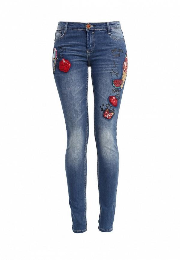 Зауженные джинсы Desigual (Дезигуаль) 61D26C5