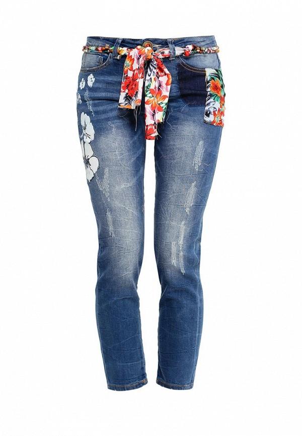 Зауженные джинсы Desigual (Дезигуаль) 61D26E1
