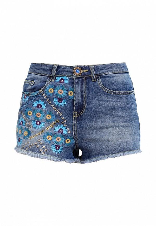 Женские джинсовые шорты Desigual (Дезигуаль) 61D26F3