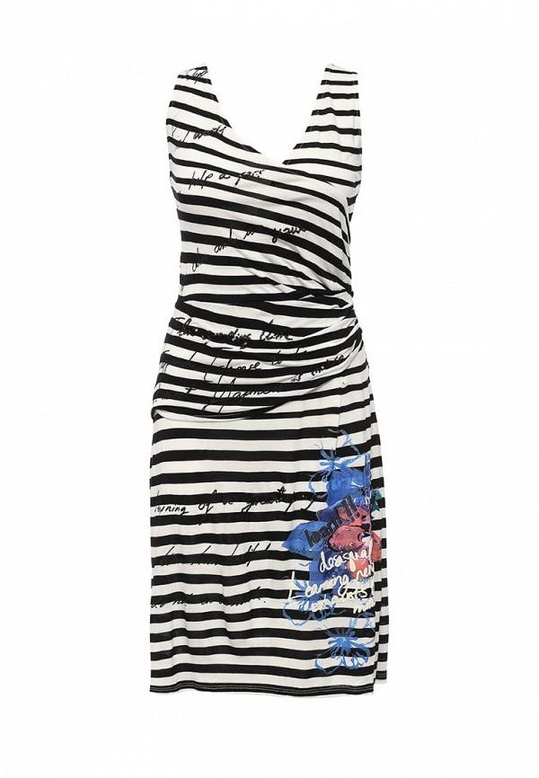 Платье-миди Desigual 61V20K6