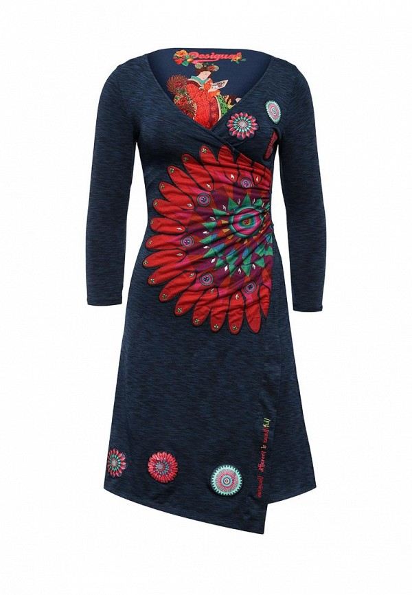 Платье-миди Desigual 67V20E1