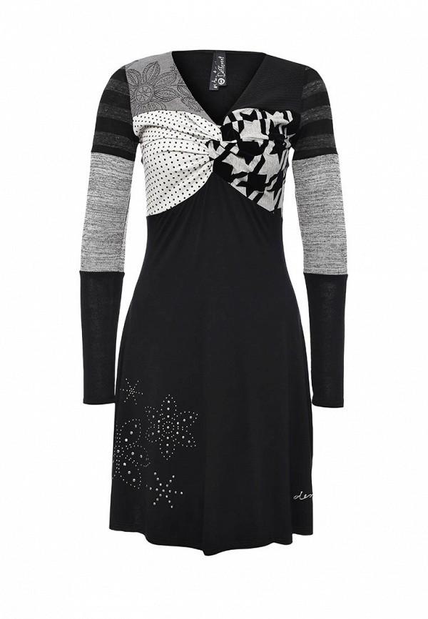 Вязаное платье Desigual 67V20W2