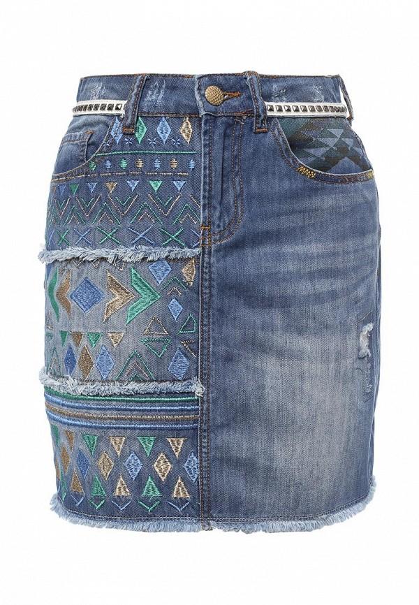 Юбка джинсовая Desigual 72F2JC5