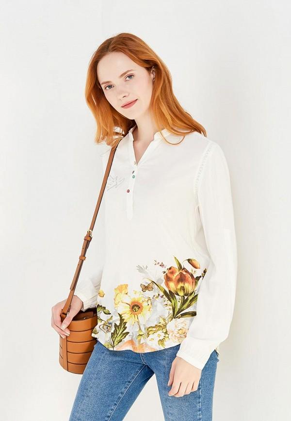 Блуза Desigual Desigual DE002EWULA29 блуза jacqueline de yong jacqueline de yong ja908ewxaf30