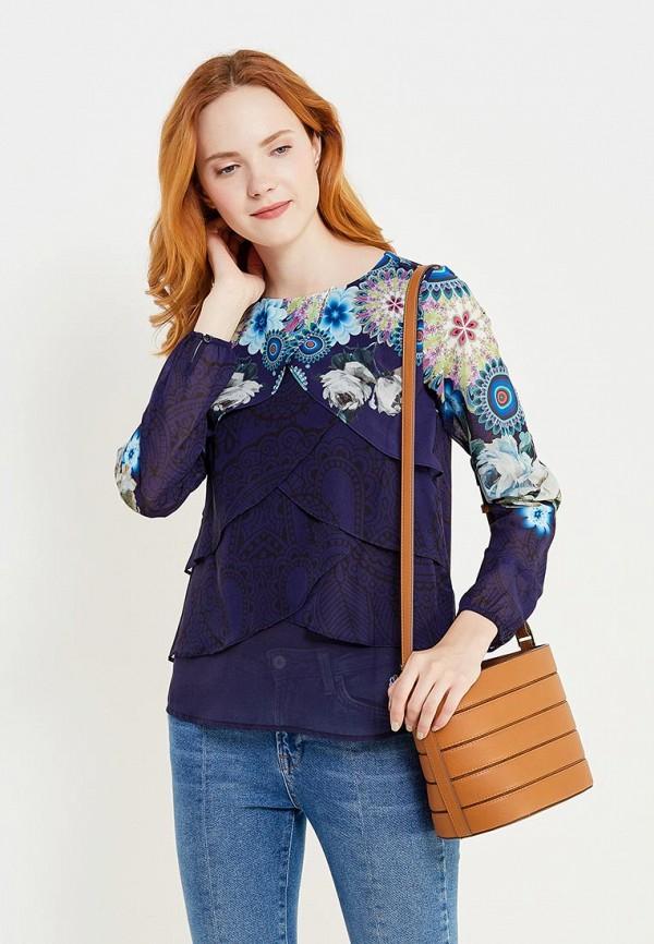 Блуза Desigual Desigual DE002EWULA30 блуза jacqueline de yong jacqueline de yong ja908ewujb68