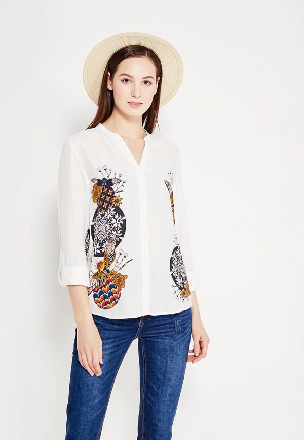 Блуза Desigual Desigual DE002EWULA34 блуза jacqueline de yong jacqueline de yong ja908ewujb68
