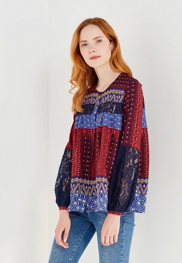 Блуза Desigual Desigual DE002EWULA35 блуза jacqueline de yong jacqueline de yong ja908ewxaf30